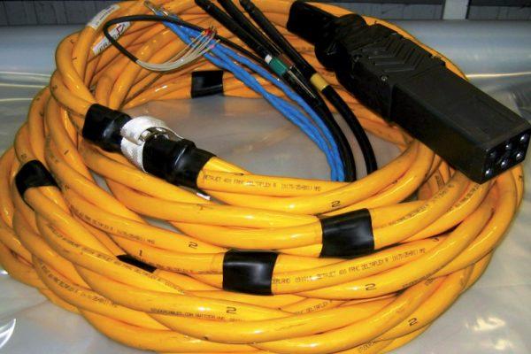 Câble 400hertz torsadé & prise fladung - Eras GSE
