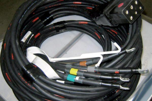 Câble 400hertz multibrins & Prise LPA - Eras GSE