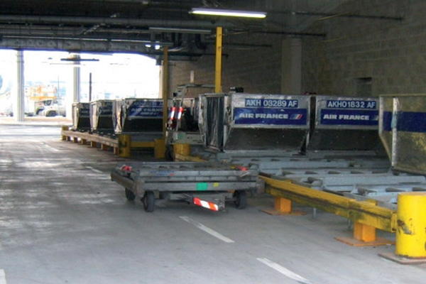 Quai Container - Eras GSE